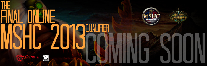 the final online qualifier mshc
