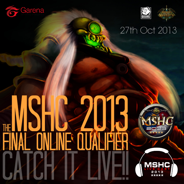 MSHC-The Final Online Qualifier LIVE CAST - 700x700