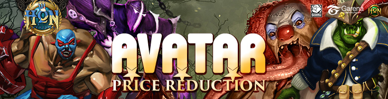 Avatar Price Reduction