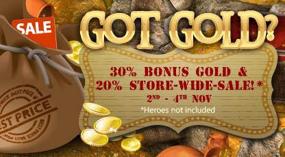 30 Bonus Gold 2 Nov